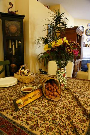 Thanksgiving at Carol's 2012