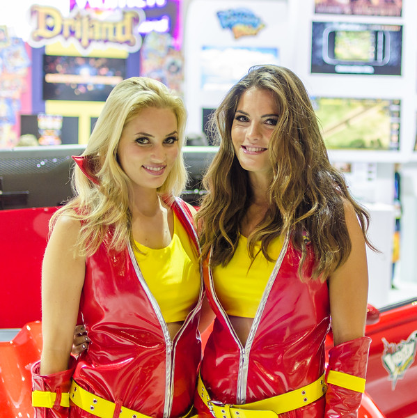 Girls at E3 2012