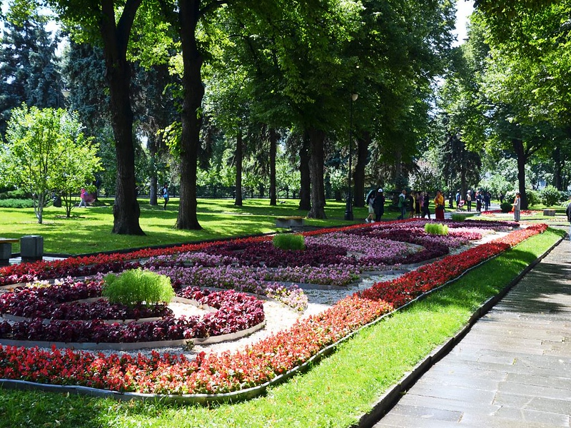 Tainitsky Garden, Kremlin, Moscow, Russia
