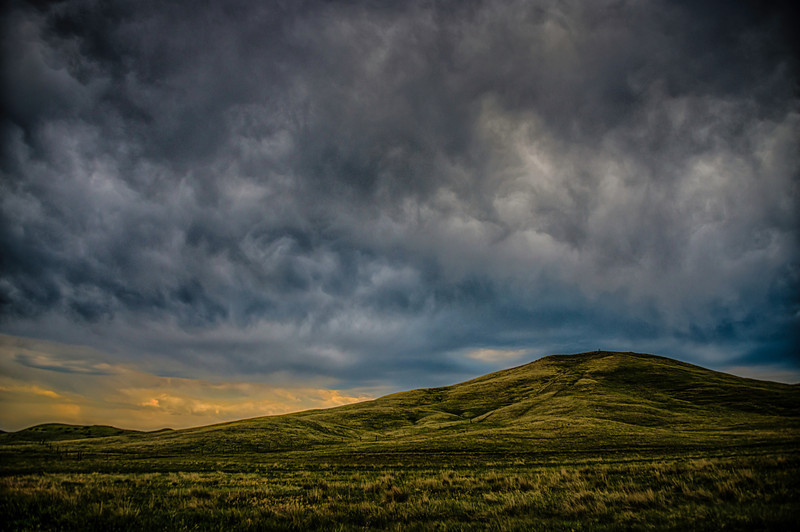 South Dakota Rain Clouds