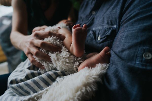Low Light, No problem - Intimate Newborn Photography in Seattle