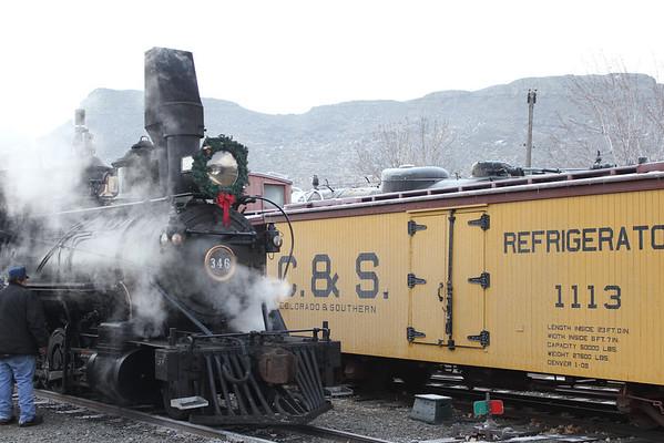 Santa Train 2014
