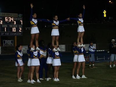 Westlake Agoura Cheer 10/04/2002