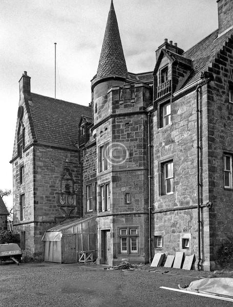 Haggs Castle.    February 1977