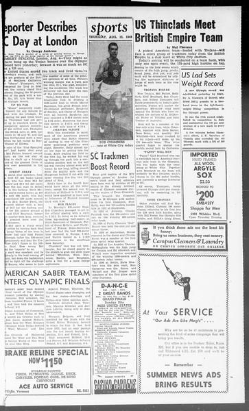 Summer News, Vol. 3, No. 21, August 12, 1948