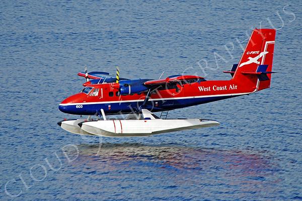 de Havilland Canada DHC-6-100 Twin Otter Civilian Float Plane Pictures