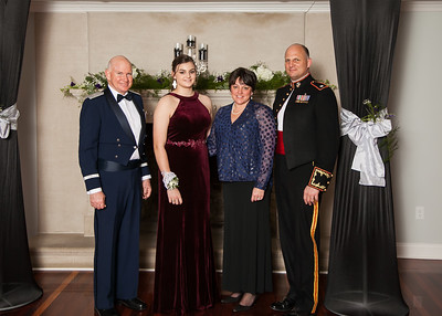 Military Ball - Posed