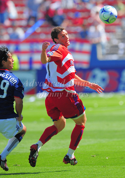 29, March 2009:  FC Dallas defender Aaron Pitchkolan #17in action during the soccer game between FC Dallas & Chivas USA at the Pizza Hut Stadium in Frisco,TX. Chivas USA  beat FC Dallas 2-0.Manny Flores/Icon SMI