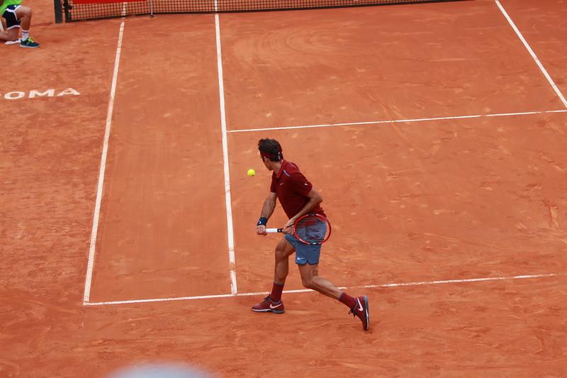 Federer take back