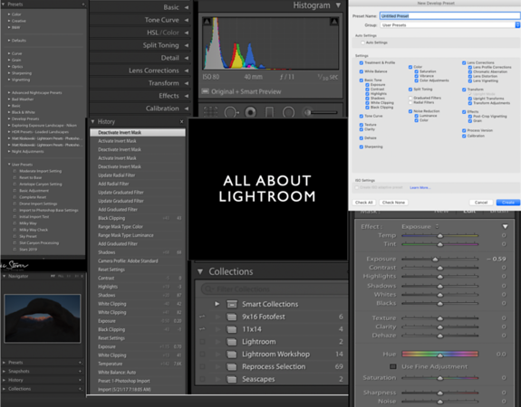 Taking Control of Lightroom