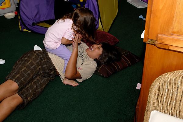 8/5/07 Madeline and Jonas
