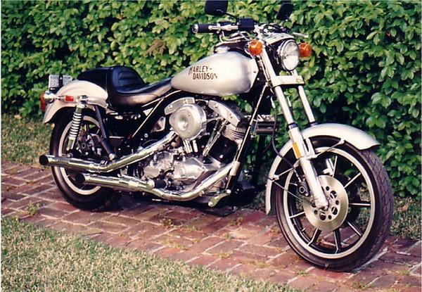 1983 Harley Davidson FXR