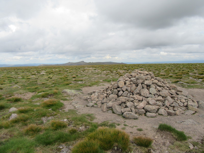 Summit cairn of Beinn a'Bhuird