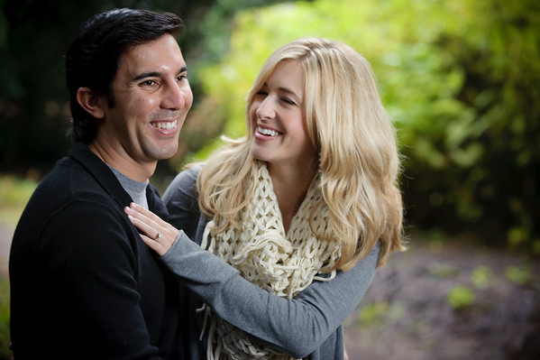 Greg and Jamie - Engagement Photography, Nisene Marks Forest, Aptos, California