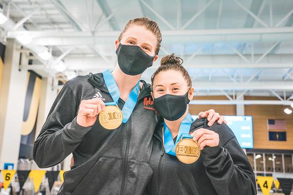 02-27-21 Big Ten Diving Women's 1 Meter