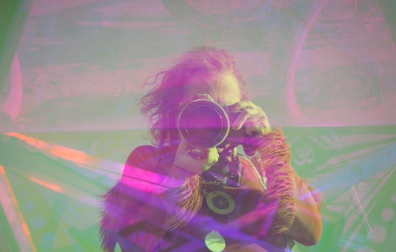 Selfie through Prism