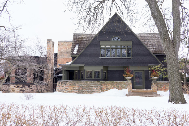 Frank Lloyd Write's Home and Studio in Oak Park, IL