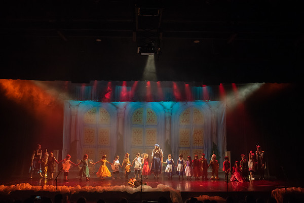 Teatro - Bela e a Fera - Total de Fotos