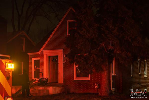 Detroit MI, House Fire  2-5-2020