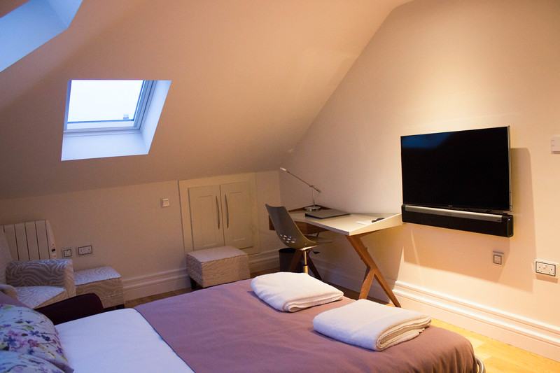 belmont house attic