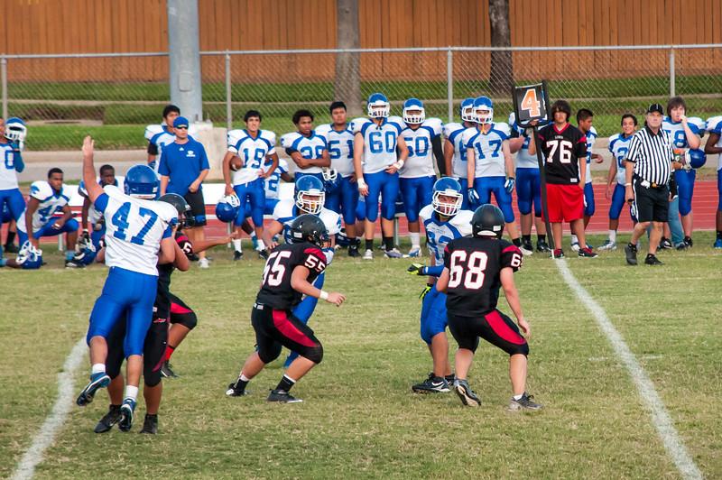 EJ's Lobos vs Cougars Football Game