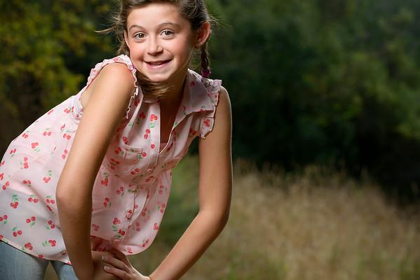 Victoria (Child Portrait Photography) @ Henry Cowell Park, Felton