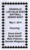 2014-05-07 Granville versus Newark Catholic Senior Night