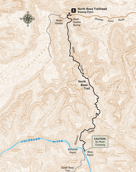 Grand Canyon National Park (North Bass Trail)