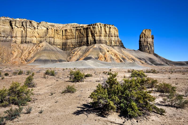 Blue Valley between Caineville and Hanksville, Utah