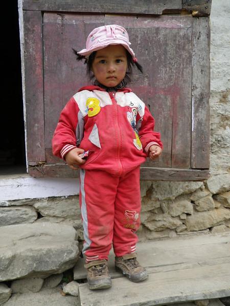 Sherpa little girl.