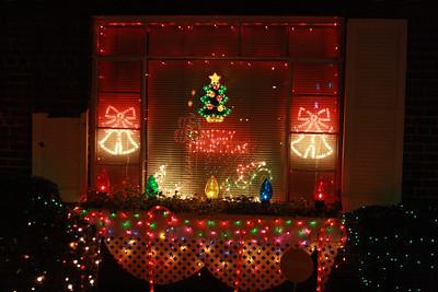 Christmas Lights - C. Johnson's House 12-29-11