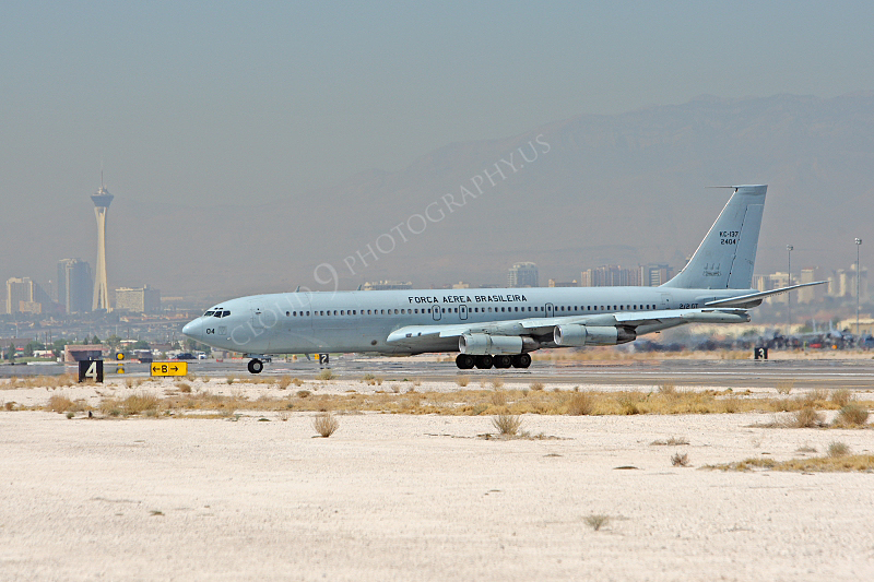 KC-137FORG 00001 Boeing KC-137 Brazilian Air Force 2404 Nellis AFB by Peter J Mancus.JPG