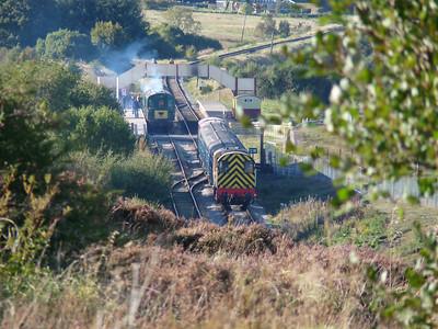 Coedkernew & Pontypool Blaenavon Railway (25-09-2010)