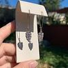 1.50ctw (est) Victorian Leaf Component Earrings 12
