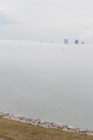 7.23.16 Milwaukee in the Fog