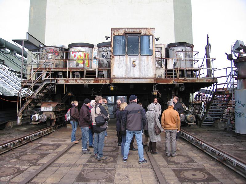 Rondleiding kolenmijn en kooksfabriek