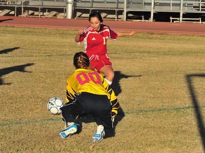 Arcadia at McClintock JV Soccer 12-10-12