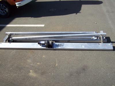 Aluminum A frame hoist