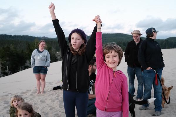 Camping, Eel Creek, Oregon 2020