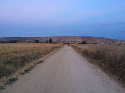 The Mays pilgrimage walking the El Camino de Santiago trail