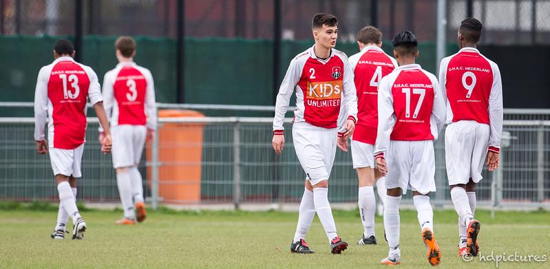 01-04-2017: Voetbal: Alexandria'66 O19-2 v Capelle O19-2: Rotterdam