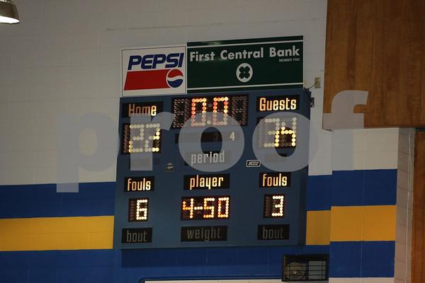 Junior Varsity-Odessa vs Higginsville 1-28-08