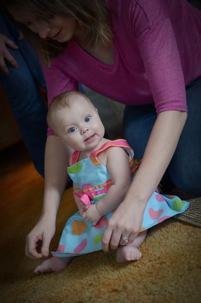 Zoey 7 months
