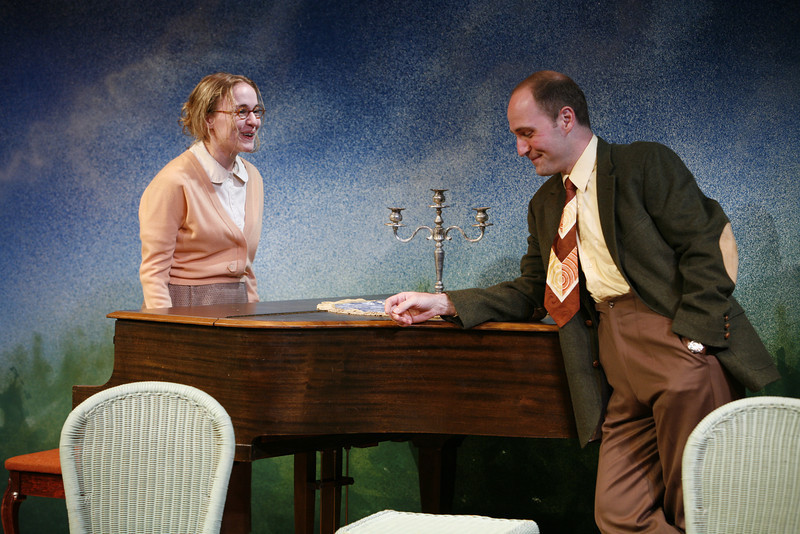 Jennifer Blood and Timothy Deenihan in SUSAN AND GOD by Rachel Crothers  Photo: Richard Termine