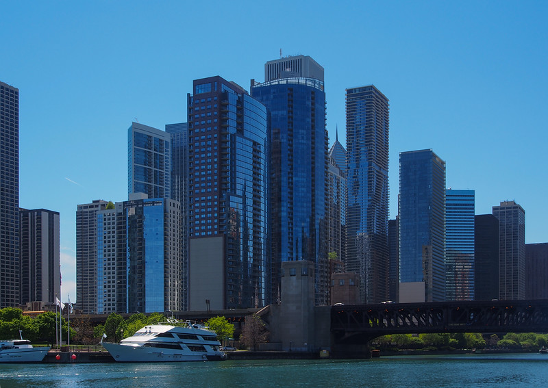 From Chicago River Cruise