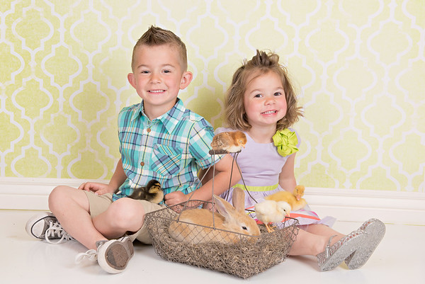 Lincoln & Annaly Easter Mini 2017