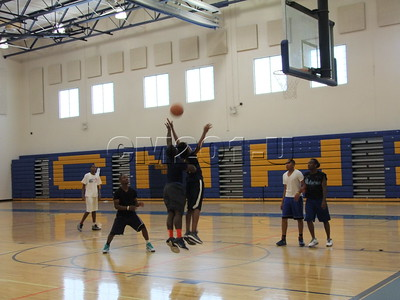 Intramural Basketball  Sept. 2012