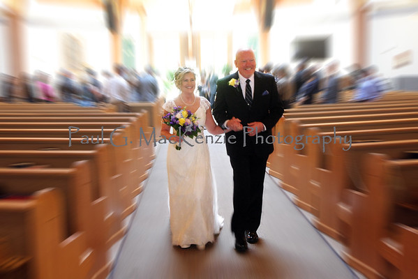 Marty and Lynn, October 29, 2016 at Holy Cross Catholic Church, Kernersville, NC