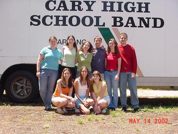 2002-05-14: Band Seniors