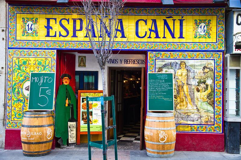 Near Plaza Santa Ana, Madrid